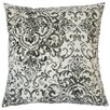 The Pillow Collection Serissa Damask Cotton Throw Pillow