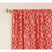 The Pillow Collection Network Rod Pocket Curtain Panels (Set of 2)