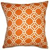 The Pillow Collection Cadena Chain Link Cotton Throw Pillow