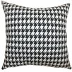 The Pillow Collection Ceres Houndstooth Cotton Throw Pillow