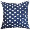 The Pillow Collection Sitara Stars Cotton Throw Pillow Cover