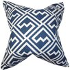 The Pillow Collection Ragnhild Geometric Cotton Throw Pillow