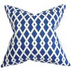The Pillow Collection Tova Geometric Cotton Throw Pillow