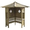 Rowlinson Haven 3 Seater Timber Corner Arbour