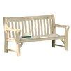 Rowlinson Rowlinson 3 Seater Oak Bench
