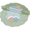 Xia Home Fashions Easter Egg Round Doily (Set of 4)