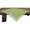 Xia Home Fashions Laurel Embroidered Cutwork Table Topper
