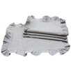 Xia Home Fashions Ruffle Trim Placemat (Set of 4)