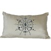 Xia Home Fashions Bejeweled Snowflake Lumbar Pillow