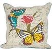 Manor Luxe Papillion on Tulip Throw Pillow