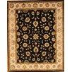 Pasargad Agra Black/Beige Traditional Persian Area Rug