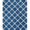 Pasargad Venice Hand Tufted Transitional Blue Area Rug