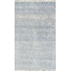 Pasargad Hand-Knotted Wool and Bamboo Silk Area Rug