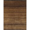 Pasargad Gabbeh Hand-Knotted Brown Area Rug