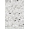 Pasargad Hand-Loomed Silver Area Rug