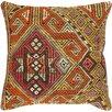 Pasargad Kilim Decorative Vintage Wool Throw Pillow