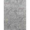Pasargad Modern Hand-Knotted Gray Area Rug