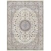 Pasargad Nain Hand-Knotted Ivory Area Rug