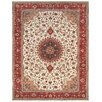 """Pasargad Pasargad Tabriz Collection Hand-Knotted Silk & Wool Area Rug- 8' 3"""" X 11' 6"""""""