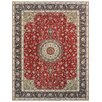 Pasargad Tabriz Hand-Knotted Red Area Rug
