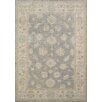 Pasargad Oushak Hand-Knotted Grey Area Rug