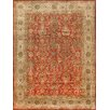 Pasargad Tabriz Hand-Knotted Rust Area Rug