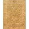 Pasargad Sultanabad Hand-Knotted Light Green Area Rug