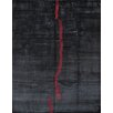Pasargad Hand-Knotted Black Area Rug