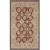 Pasargad Ferehan Hand-Knotted Brown Area Rug