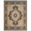 Pasargad Tabriz Hand-Knotted Black Area Rug