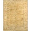 Pasargad Oushak Hand-Knotted Gold/Ivory Area Rug