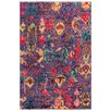 Pasargad Moroccan Hand-Knotted Purple Area Rug