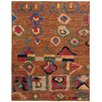 Pasargad Moroccan Hand-Knotted Camel Area Rug
