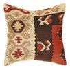 Pasargad Kilim Decorative Wool Throw Pillow