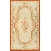 Pasargad Hand-Knotted Beige Area Rug