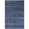 Pasargad Tabriz Hand-Knotted Navy Area Rug