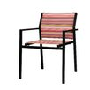 Mamagreen Stripe Stacking Dining Arm Chair