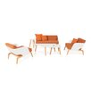 Mamagreen Kaat Deep Seating Group with Cushions