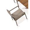Mamagreen Ekka Stacking Dining Arm Chair