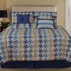 Home Fashions International Pixel 7 Piece Comforter Set