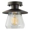 Globe Electric Company Vintage 1 Light Semi Flush Mount