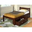 Donco Kids Donco Kids Twin Slat Bed with Storage