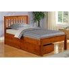 Donco Kids Donco Kids Twin Slat Bed with Storage