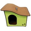 Penn Plax Zipper Sloped Roof Dog House