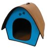 Penn Plax Zipper Curved Roof Dog House