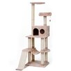 "Penn Plax 42"" 4 Level Vertical Tower Cat Tree"