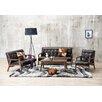 Wholesale Interiors Baxton Studio Mid Century Masterpieces 3 Piece Sofa Set