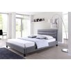 Wholesale Interiors Baxton Studio Hillary Upholstered Platform Bed
