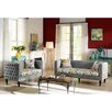 Wholesale Interiors Baxton Studio Penelope Sofa and Loveseat Set