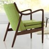 Wholesale Interiors Baxton Studio Shakespeare Mid-Century Upholstered Leisure Arm Chair